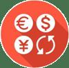 Numery kont bankowych | ikona graficzna